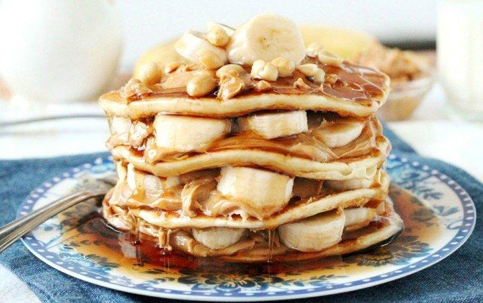 pfannkuchen-banana-karamell-mehstöckig