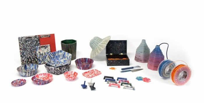 plastik-recycling-körber-lampen-hüte