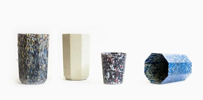 plastik-recycling-töpfe-aus-einem-recycelten-plastik