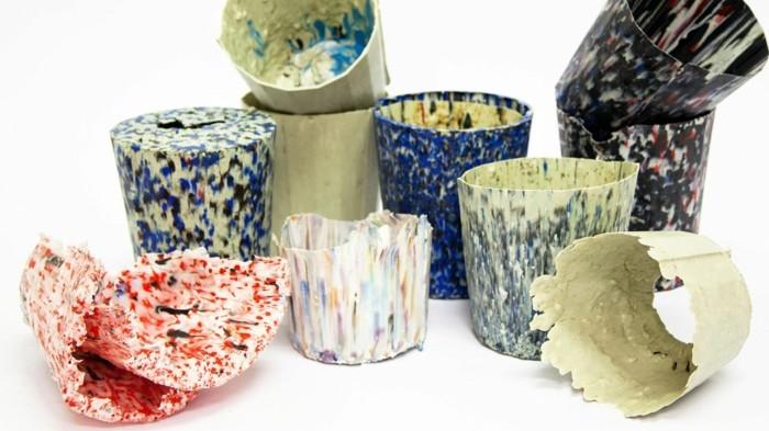 plastik-recycling-töpfe-aus-recyceltem-plastik