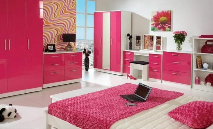 rosige-akzente-im-schlafzimmer-wandfarben-vorschläge