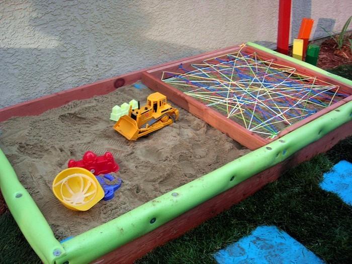 sandkasten selber bauen spielideen und lagerung l sungen. Black Bedroom Furniture Sets. Home Design Ideas