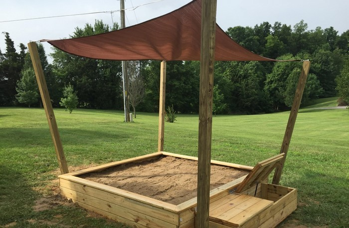 Favorit Sandkasten selber bauen: Spielideen und Lagerung-Lösungen EP03