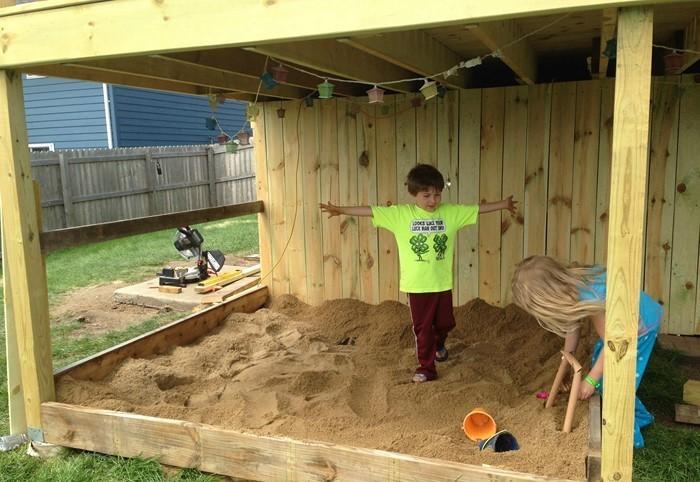 Sandkasten Selber Bauen: Spielideen Und Lagerung-lösungen Sandkasten Selber Bauen Ideen Tipps Garten Kinder Spiel