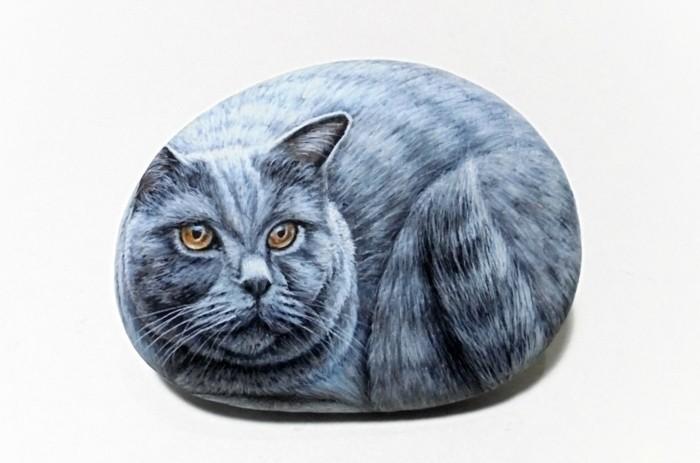 Steine Bemalen Katze : steine bemalen 60 unserer lieblingsideen ~ Watch28wear.com Haus und Dekorationen