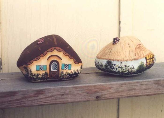 steine-bemalen-schöne-häuser