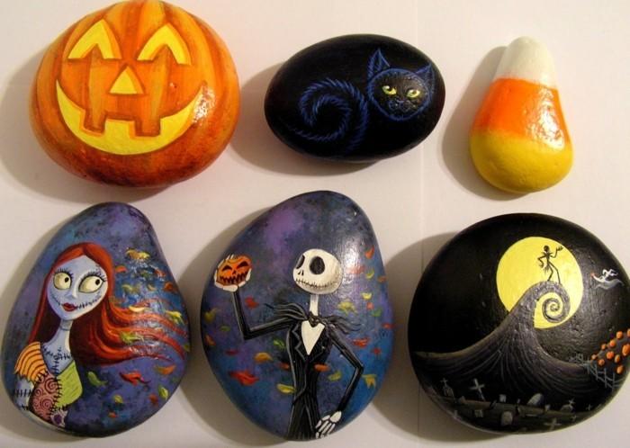 steine-bemalen-steine-mit-halloween-motiven