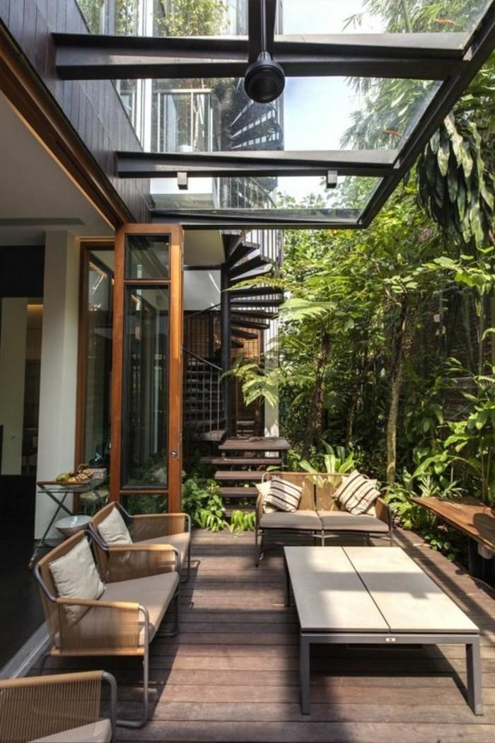 terrasse gestalten modern innenr ume und m bel ideen. Black Bedroom Furniture Sets. Home Design Ideas