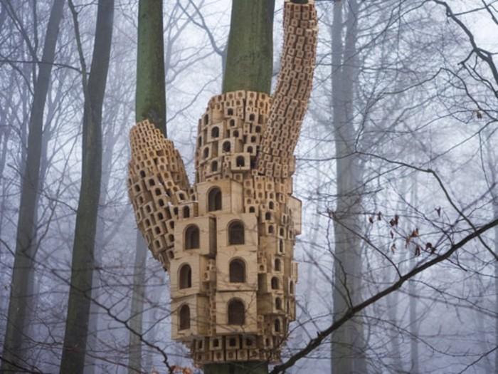 vogelfutterhaus-selber-bauen-außergewöhnliche-vogelhäuser-selber-bauen