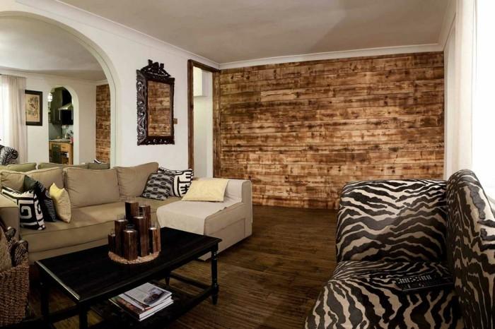 wände-verzieren-hölzerne-wandverkleidung-tolles-wohnzimmer