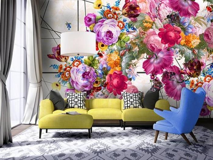 wunderschöne-möbel-und-wandgestaltung-im-wohnzimmer-wandfarben-vorschläge