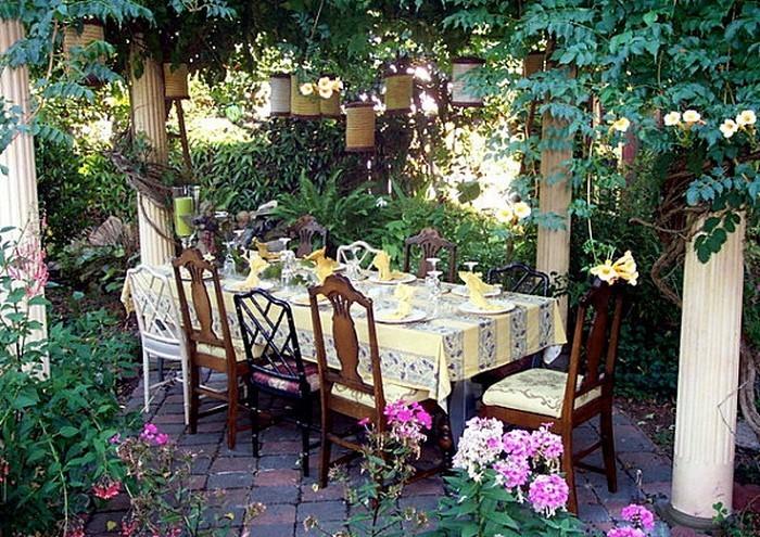 Deko Laternen Holz : Deko Gartenparty: 50 selbstgebastelte Garten ...