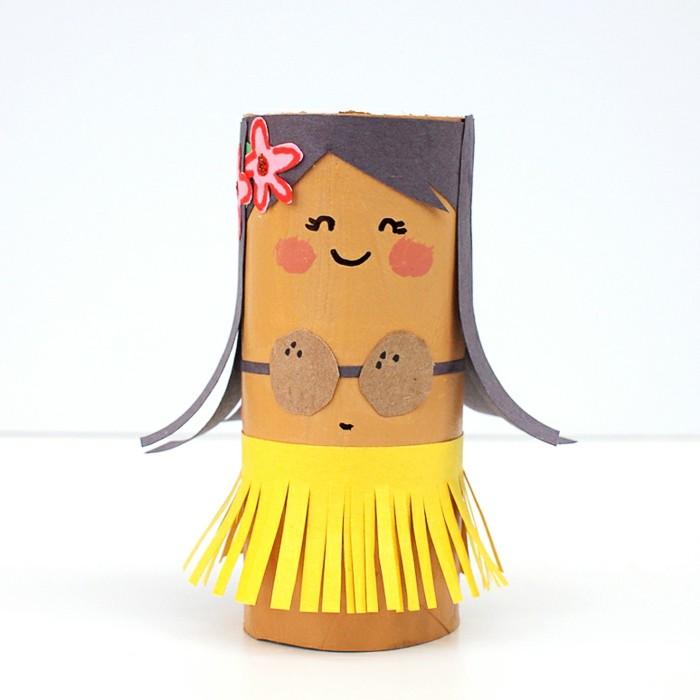 Einfache-Bastelideen-ein-Mädchen