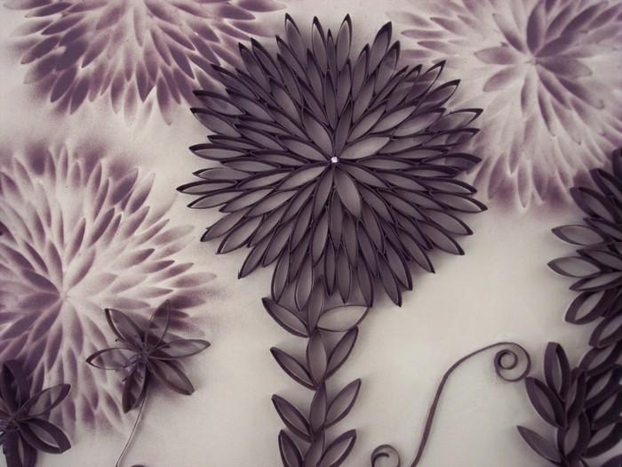 Einfache-Bastelideen-eine-schöne-Blume