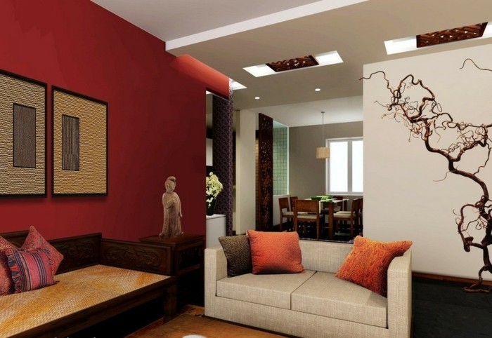 60 feng shui wohnzimmer ideen mit viel positiver energie. Black Bedroom Furniture Sets. Home Design Ideas