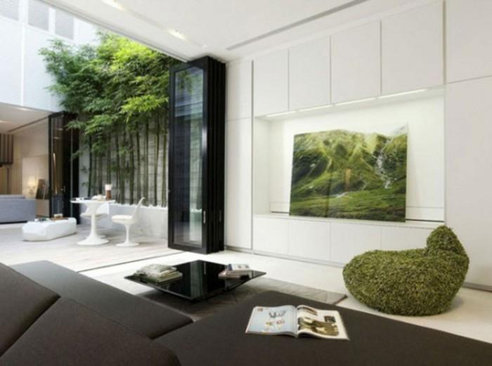 Feng-Shui-Farben-Wohnzimmer-weiß-fördert-Kreativität