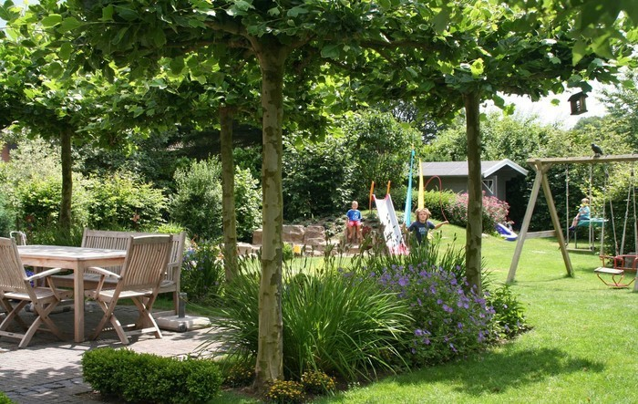 Gartengestaltung-Ideen-für-Kinder-Ein-auffälliges-Exterieur