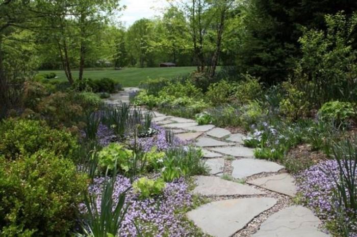 Gartenwege-gestalten-Eine-coole-Gestaltung
