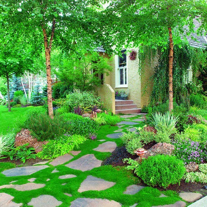 Gartenwege-gestalten-wunderschöne-Gestaltung