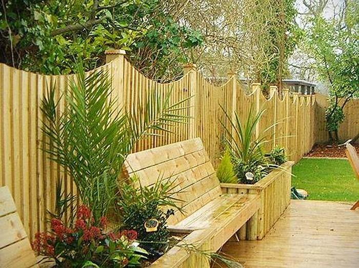 Gartenzaun sichtschutz 100 wundersch ne gartenmauer for Deko gartenzaun