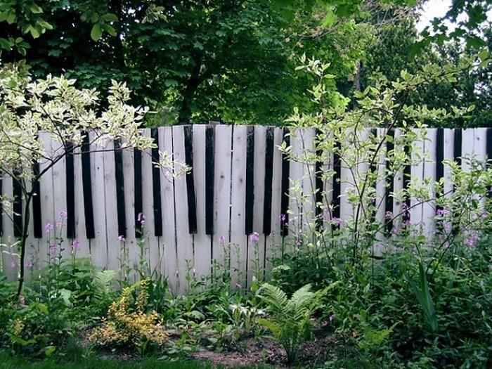 Gartenzaun sichtschutz 100 wundersch ne gartenmauer for Idee gartenzaun