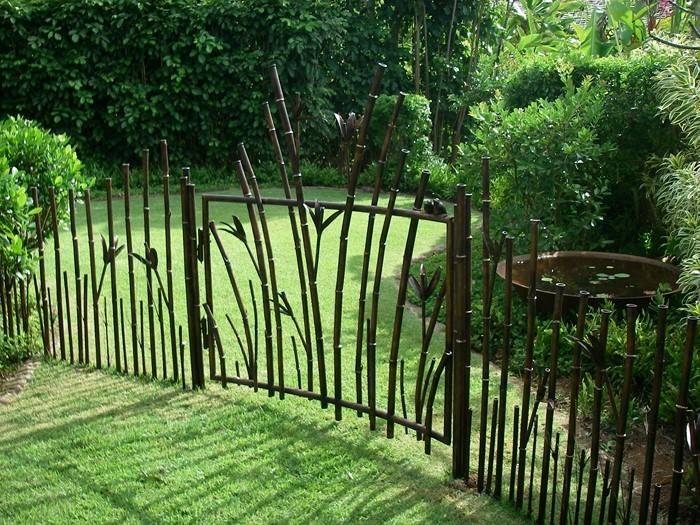Gartenzaun-Sichtschutz-Eine-auffällige-einrichtung