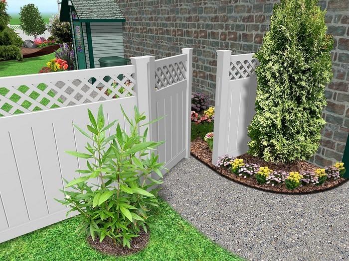 Gartenzaun-Sichtschutz-Eine-moderne-Dekoration