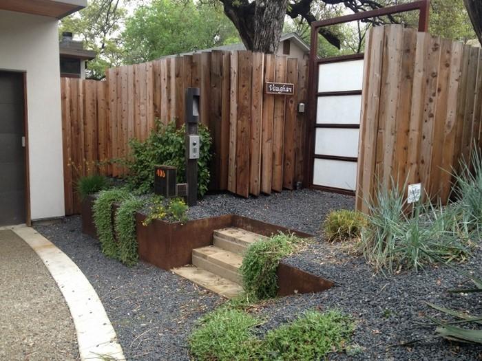 Gartenzaun sichtschutz 100 wundersch ne gartenmauer for Deko sichtschutz garten