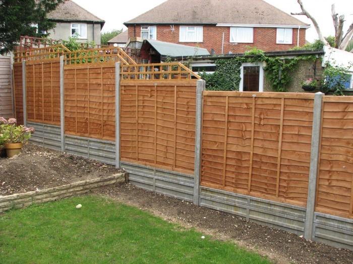 Gartenzaun-Sichtschutz-Eine-verblüffende-Dekoration