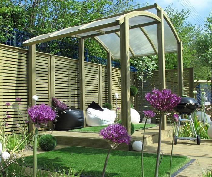 Gartenzaun-Sichtschutz-kreative-Gestaltung
