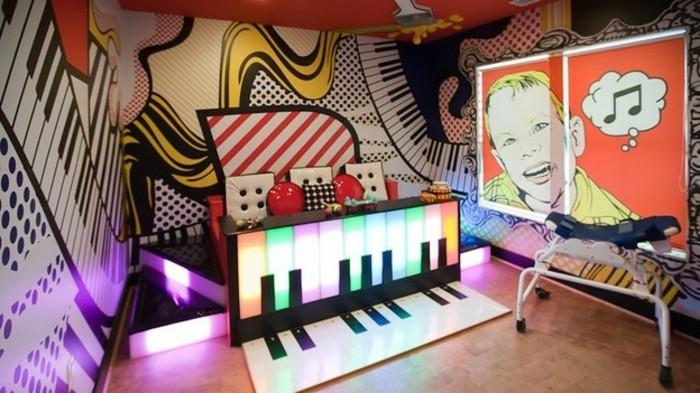 40 coole Dekoideen mit Graffiti im Zimmer