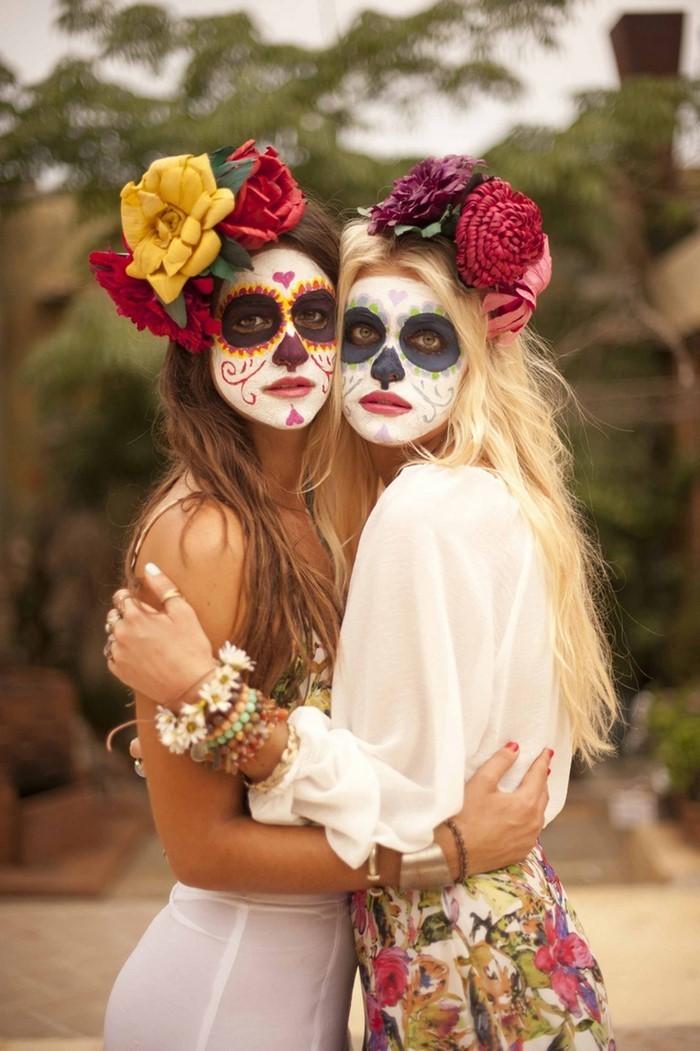 Halloween-Schminke-Eine-kreative-Gestaltung