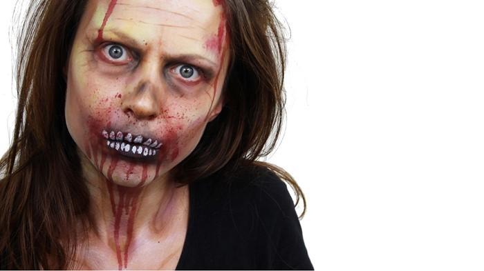 Halloween-Schminke-Eine-moderne-Ausstattung