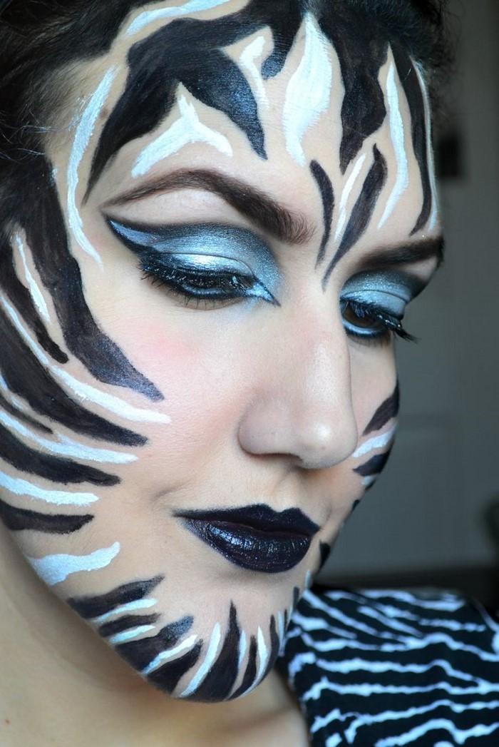 Zebra Face Paint Animal