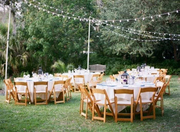 Heiraten Im Garten 100 Hochzeit Deko Ideen