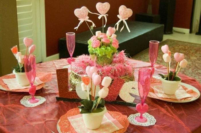 Herz-Deko-zarter-rosa-Farbe