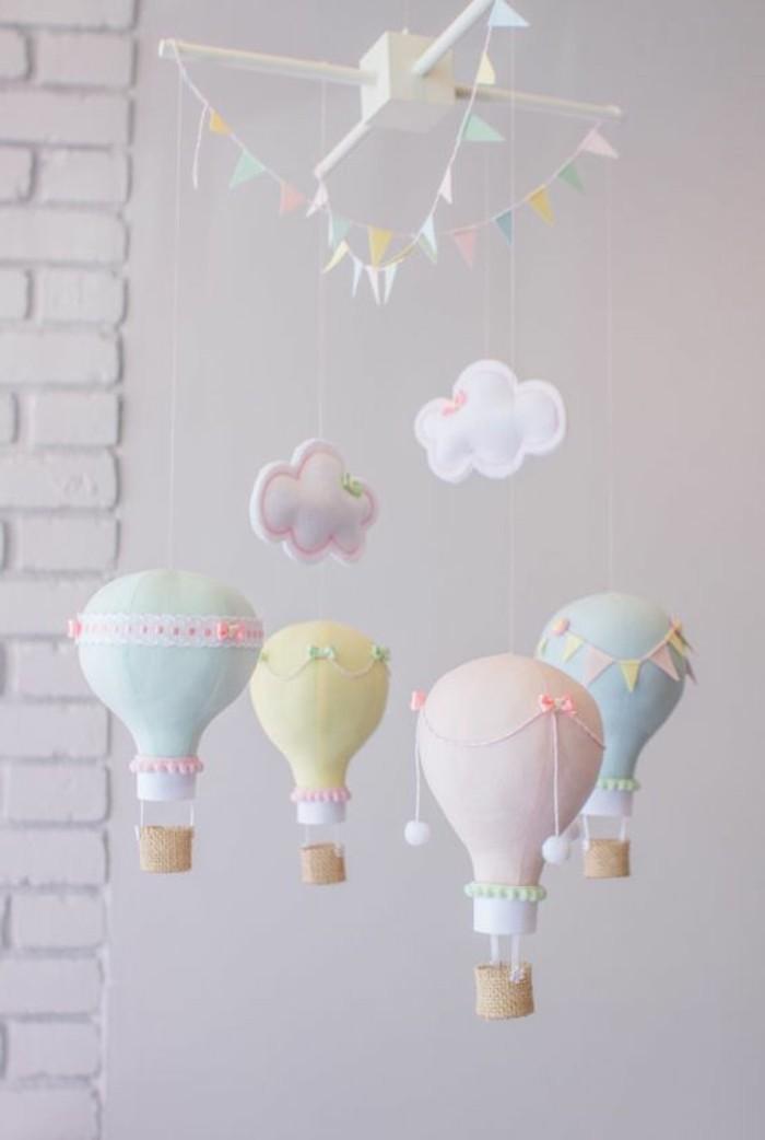 43 ideen und anleitung f r kinderzimmer deko selber machen for Babyzimmer dekoration