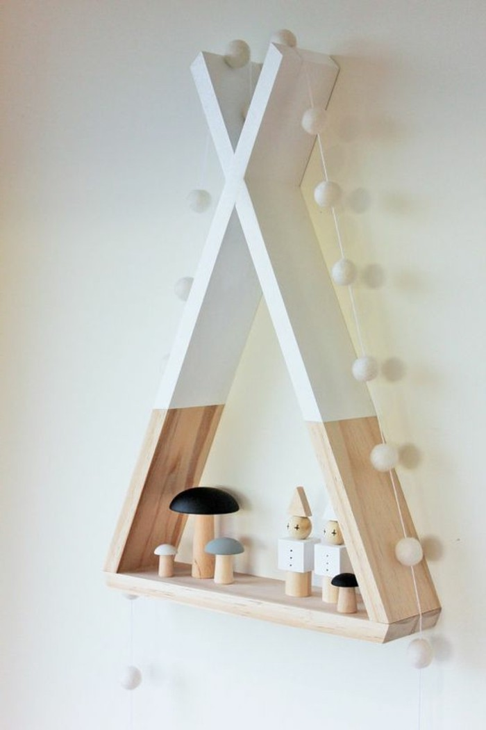 Ideen-für-Kinderzimmer-Häuschen-aus-Holz