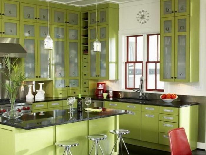 81 moderne farbideen f r k che wandgestaltung. Black Bedroom Furniture Sets. Home Design Ideas