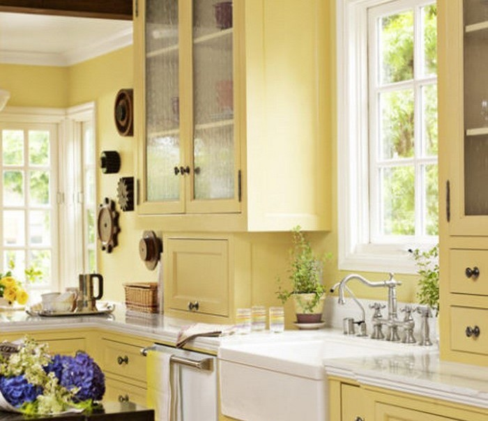 Kitchen Color Trends 2016 Paint Colors With Maple Cabinets: 81 Moderne Farbideen Für Küche Wandgestaltung