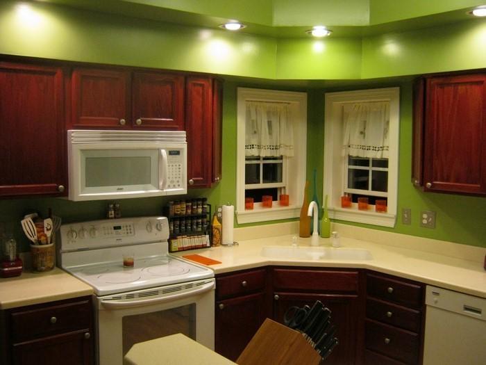 Küche Wandgestaltung Eine Auffällige Einrichtung