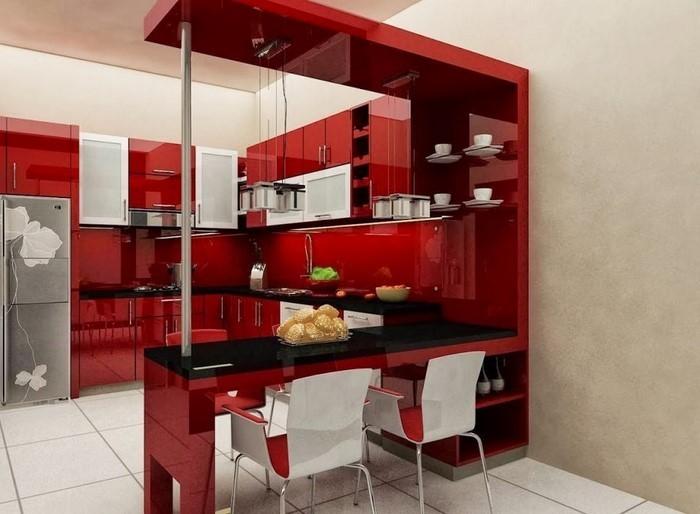 81 moderne farbideen für küche wandgestaltung - Kche Ideen Wandgestaltung