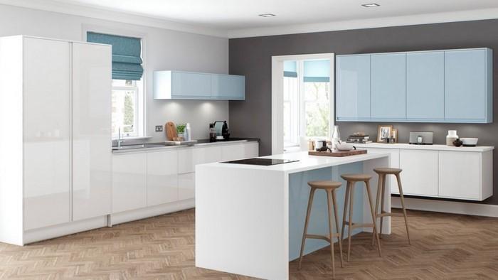 81 Moderne Farbideen Für Küche Wandgestaltung ...