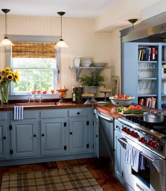 Wandgestaltung küche streifen ~ Dayoop.com