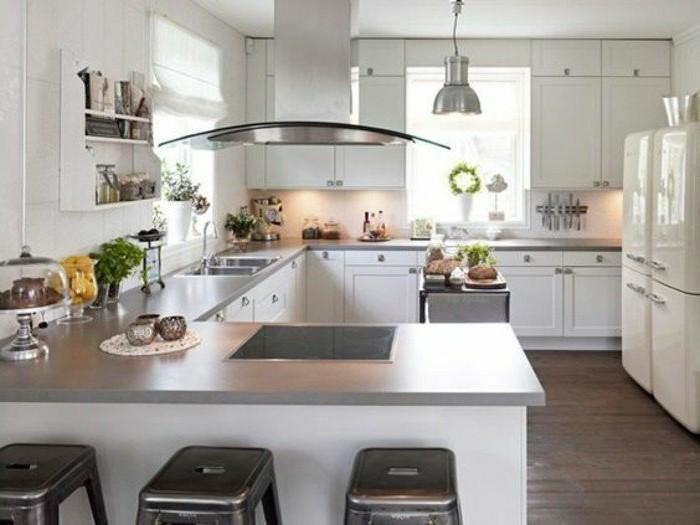 Moderne küche mit theke  70 coole Bilder von Küche mit Tresen - Archzine.net