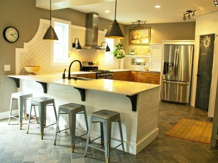 U Shaped Kitchen Designs With Walk In Pantry