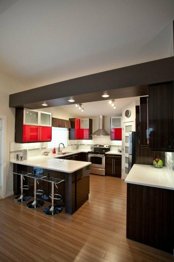 70 coole bilder von k che mit tresen. Black Bedroom Furniture Sets. Home Design Ideas