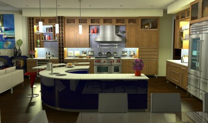 70 coole bilder von küche mit tresen   archzine.net