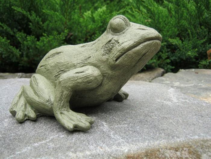 Lustige-Gartenfiguren-Ein-kreatives- Exterieur