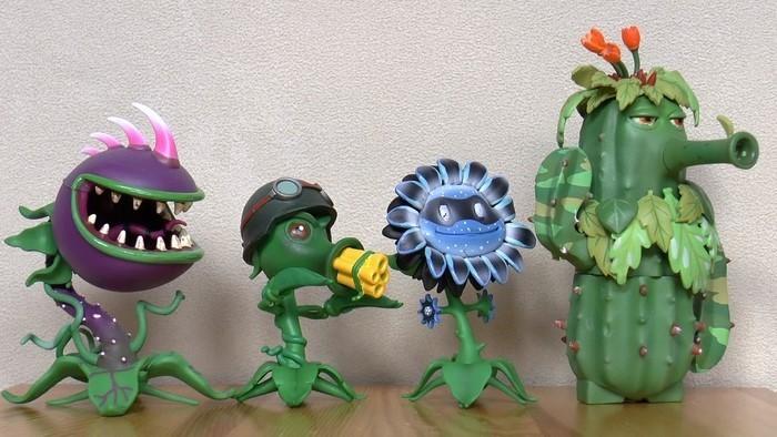 Lustige-Gartenfiguren-Ein-modernes- Exterieur